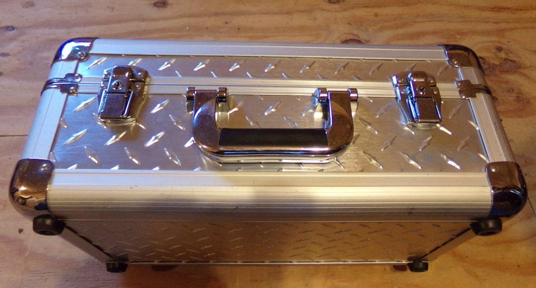 Odyssey Case  Silver Diamond series. - 2