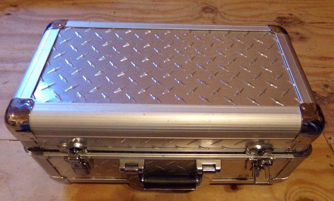 Odyssey Case  Silver Diamond series. - 3
