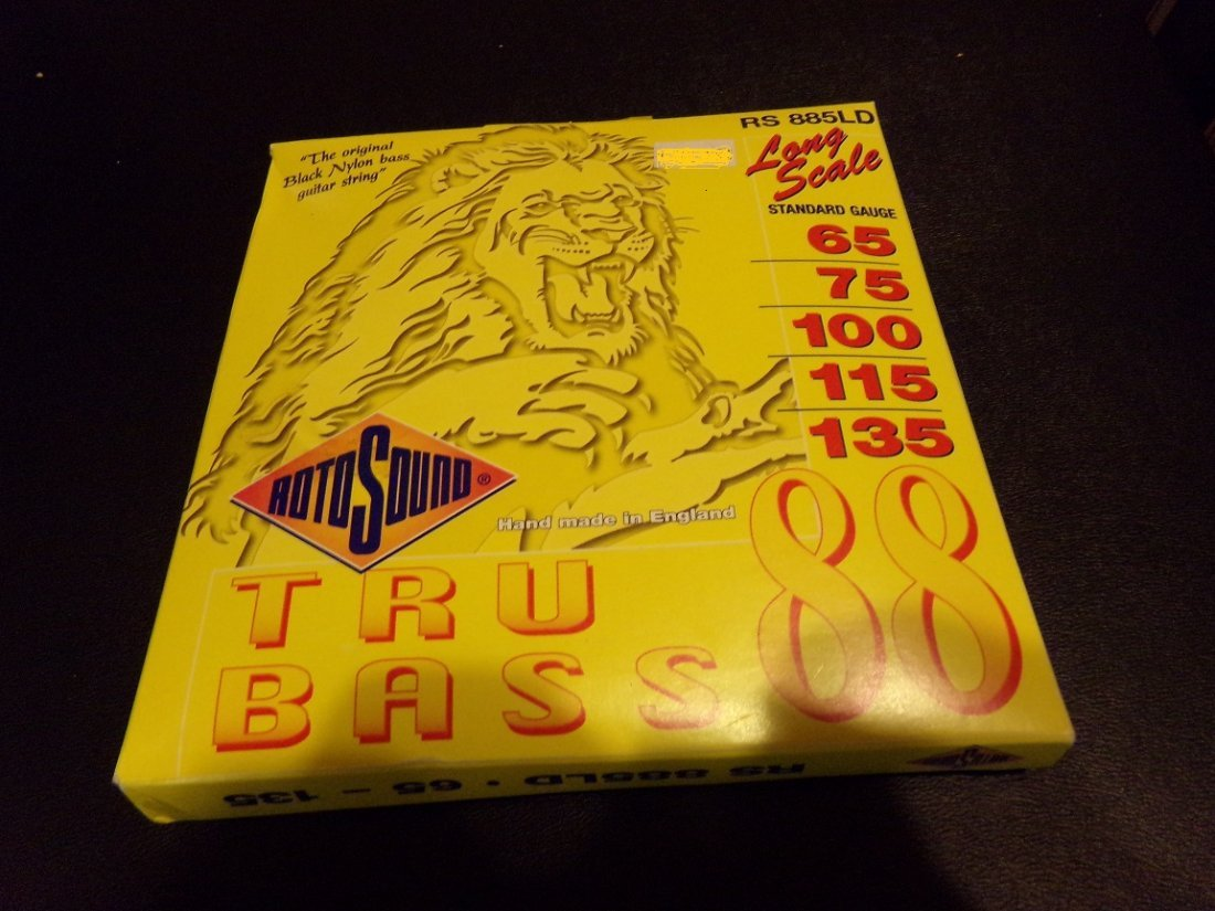 Roto Sound Long Scale True Bass 88 Strings