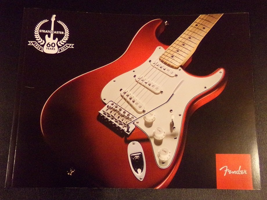 Official Fender 60th Anniversary Stratocaster BOOK