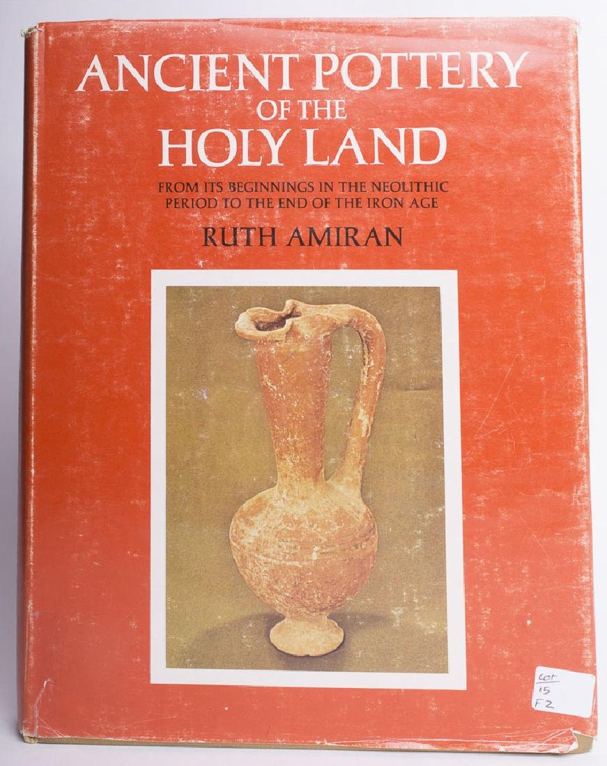 Book Ancient Pottery of The Holy Land by Ruth Amiran