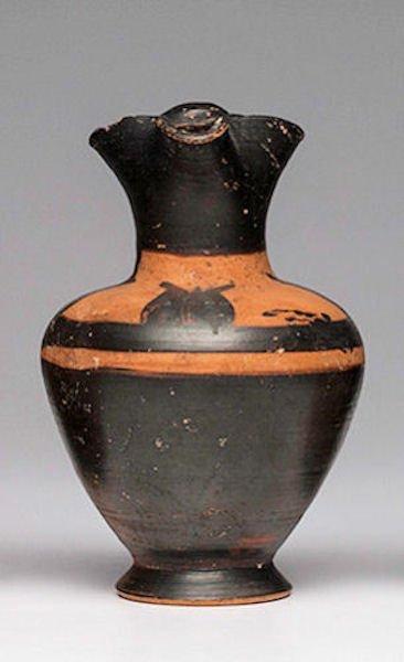 Ancient Italo-Ionic Pottery Oinochoe jug Ca. 6th Centur