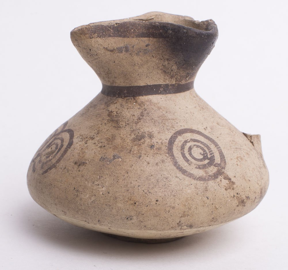 Ancient Cypriot Pottery Jug c.10th century BC
