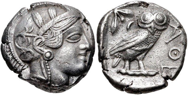ATTICA, Athens. Circa 454-404 BC. AR OWL Tetradrachm