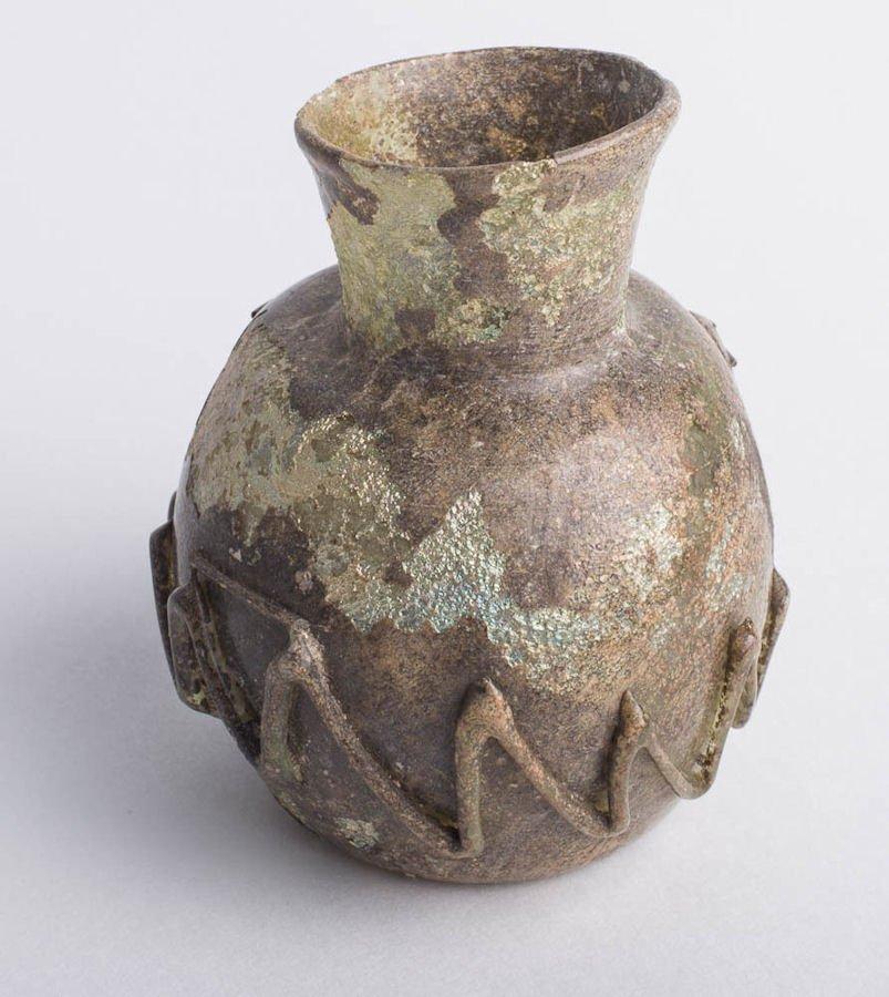 Roman glass jar c1st 2nd century ad ancient roman glass jar c1st 2nd century ad floridaeventfo Gallery