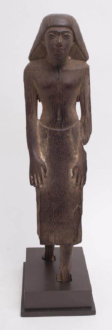 Ancient Egyptian wood figure of Official Middle Kingdom