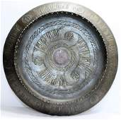 Ancient Islamic Seljuk bronze Tray c12th century AD