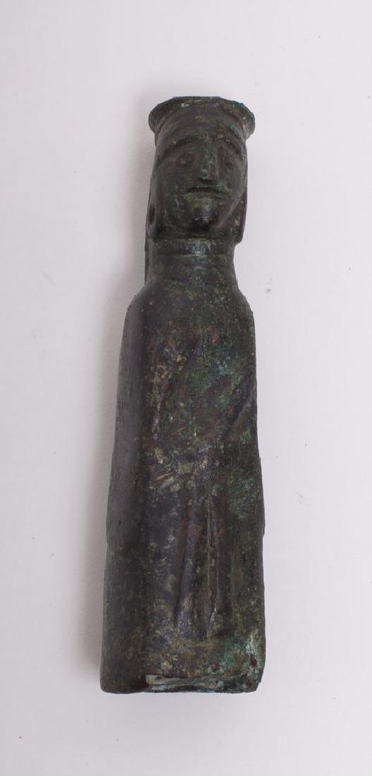 Rare Luristan BRONZE Female figure c.1st millennium BC