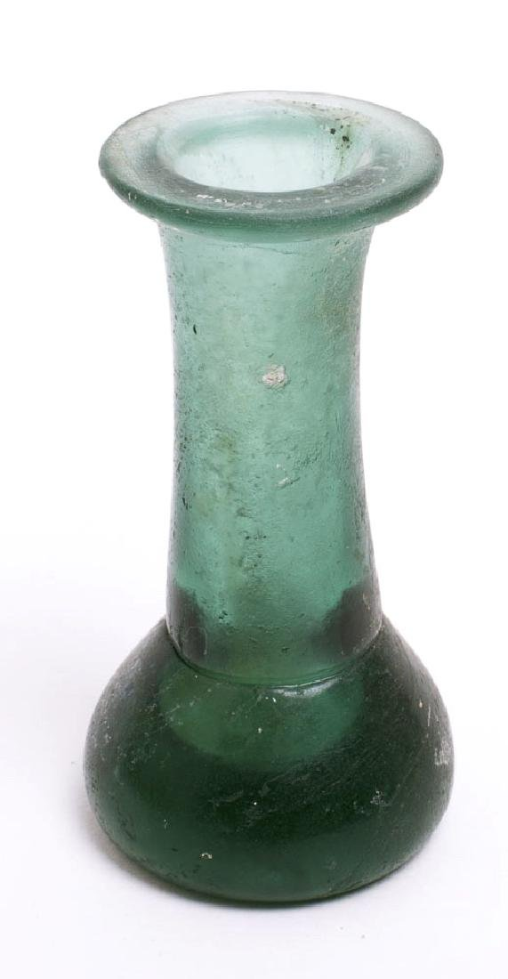 Ancient Roman Glass Jar c.1st-2nd century AD