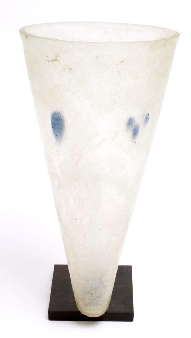 Large Ancient Roman Glass Cup c.1st-2nd century AD