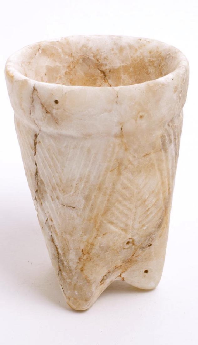 Ancient Messopotamian Stone Cop c.6th century BC