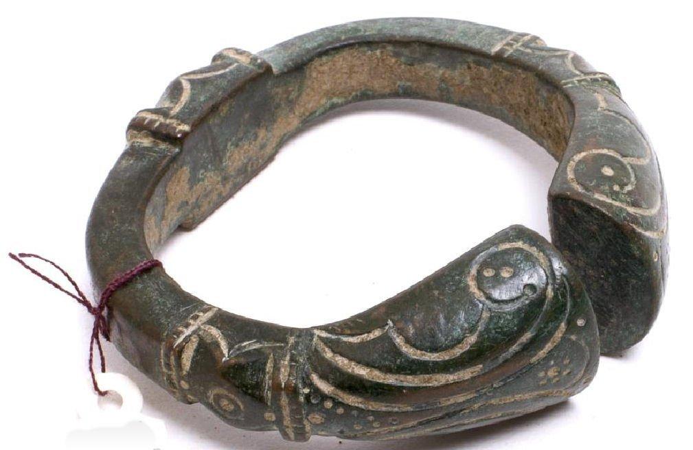 Ancient Celtic Bronze Bracelet c.2nd century BC.