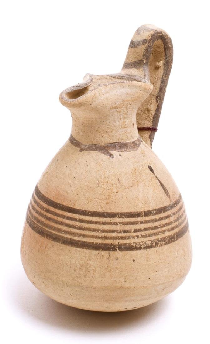 Ancient Cypriot Pottery Juglet c.5th century BC. - 2