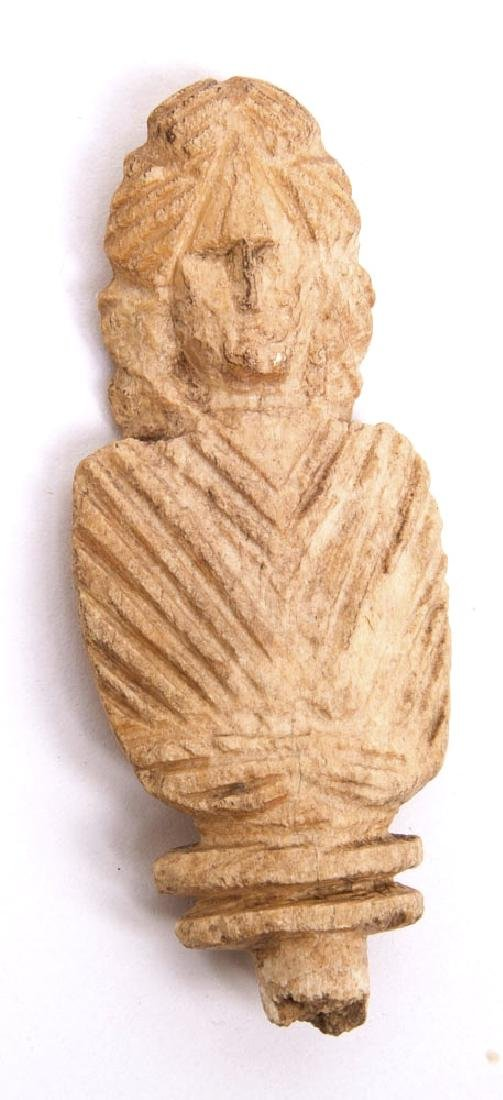 Ancient Roman Pin Top Toga Bust c.1st-4th century AD