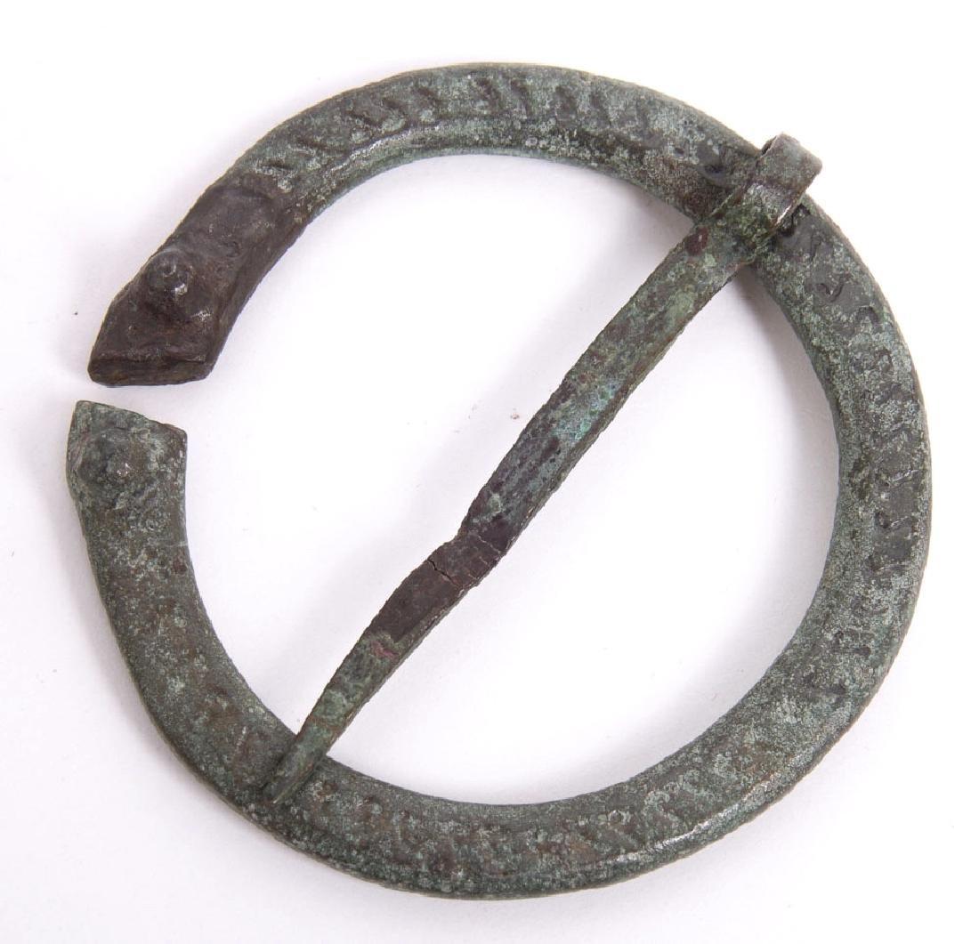 Ancient Roman Bronze Febula c.1st-4th century AD
