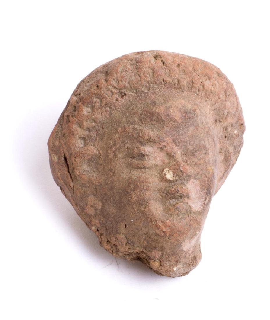 Ancient Roman Terracotta Head of a Youth c.2nd century