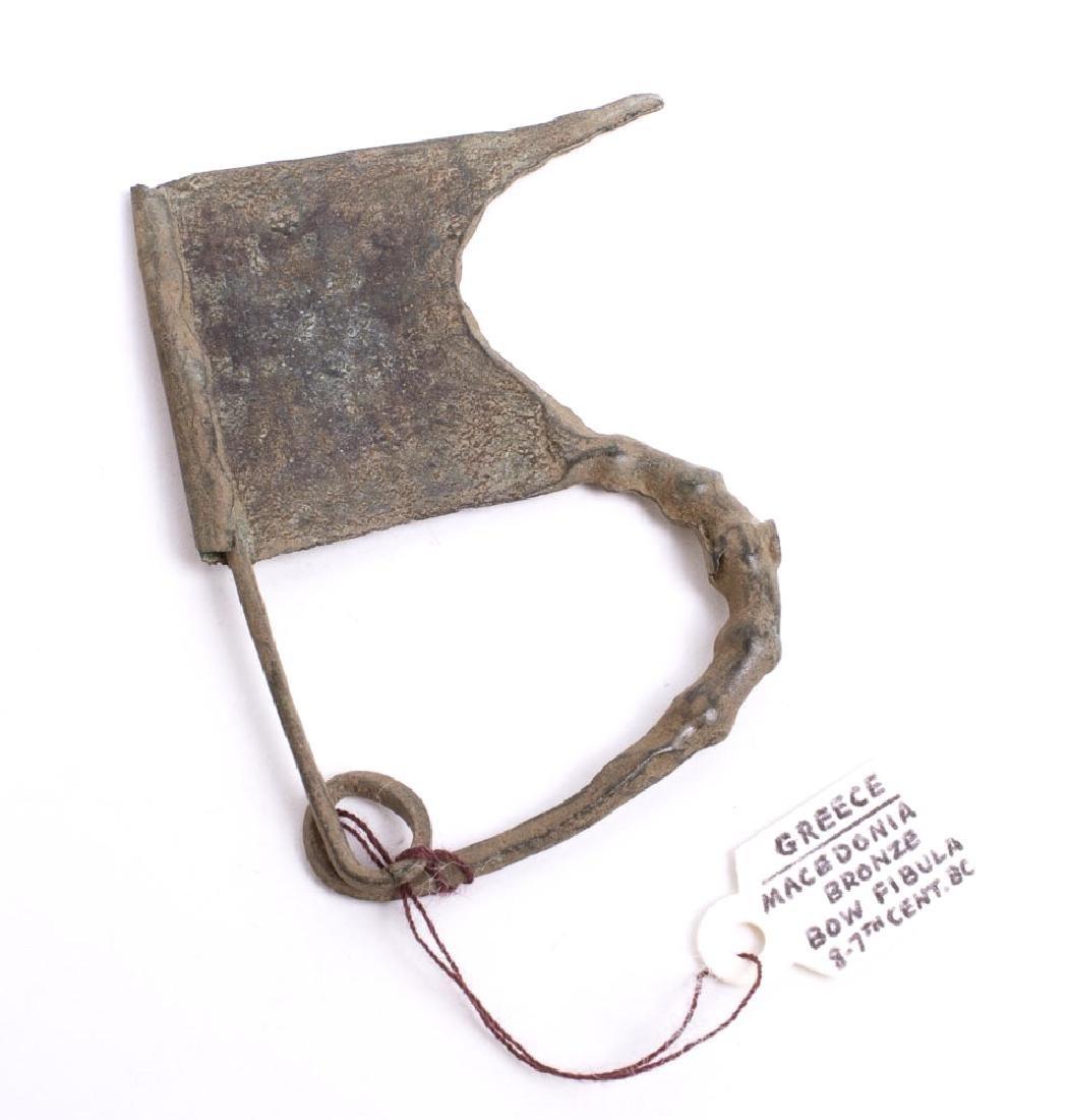 Ancient Greece Bronze Bow Fibula c.8th century BC.