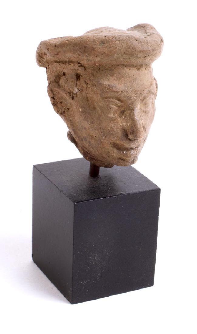 Ancient Roman Terracotta Head of a Man c.2nd century