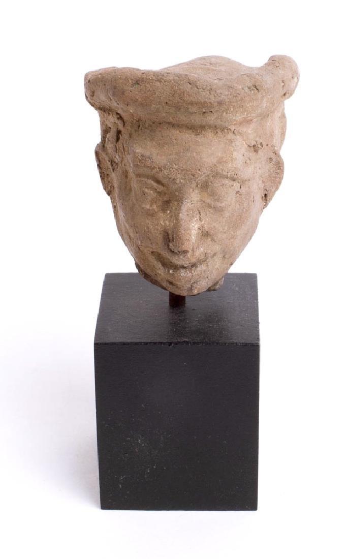 Ancient Roman Terracotta Head of a Man c.2nd century - 2