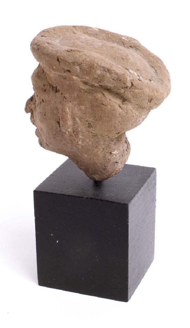 Ancient Roman Terracotta Head of a Man c.2nd century - 3