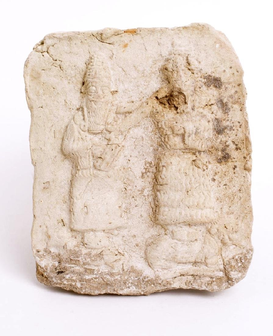 Ancient Old Babylonian Terracotta Plaque c.1900 BC