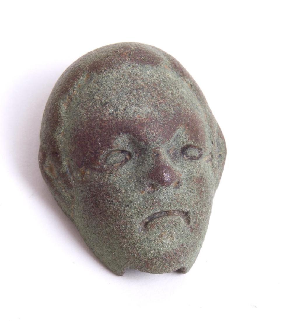Ancient Roman Bronze Face c.2nd century AD