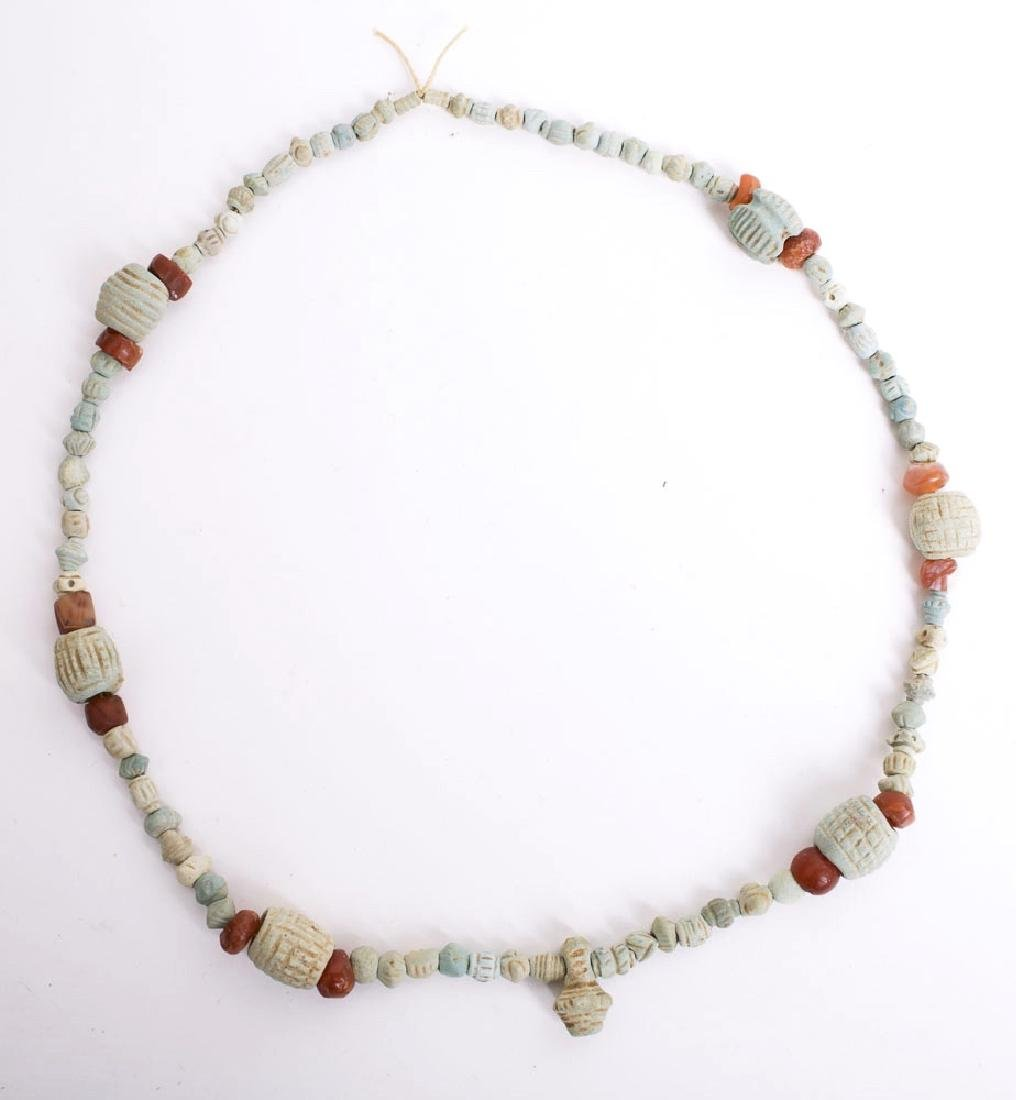 Ancient Persian Faience Beads Necklace c.3rd cent BC