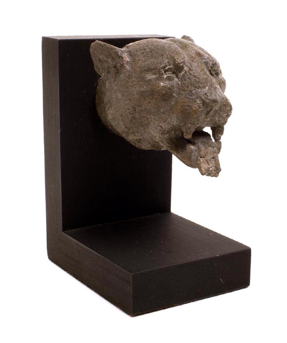 Ancient Roman Bronze Head Of Lioness Circa 1st century