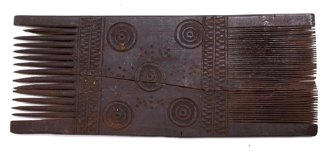 Ancient Coptic Egypt Wood Comb c.5th century AD.