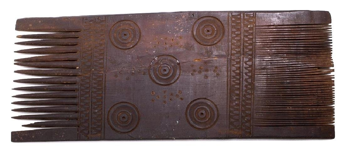 Ancient Coptic Egypt Wood Comb c.5th century AD. - 2