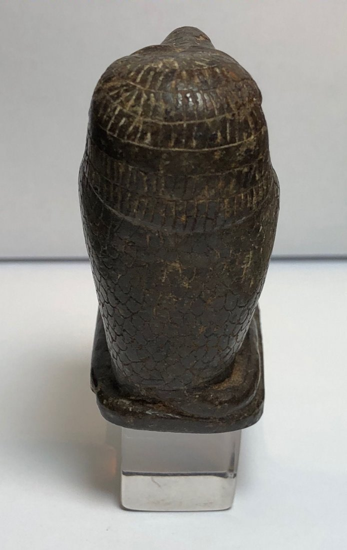 Ancient Egyptian Serpentine Stone Baboon c.700 BC - 7