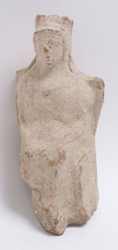 Ancient Greek Hollow Terracotta Female Figure c.3rd cen