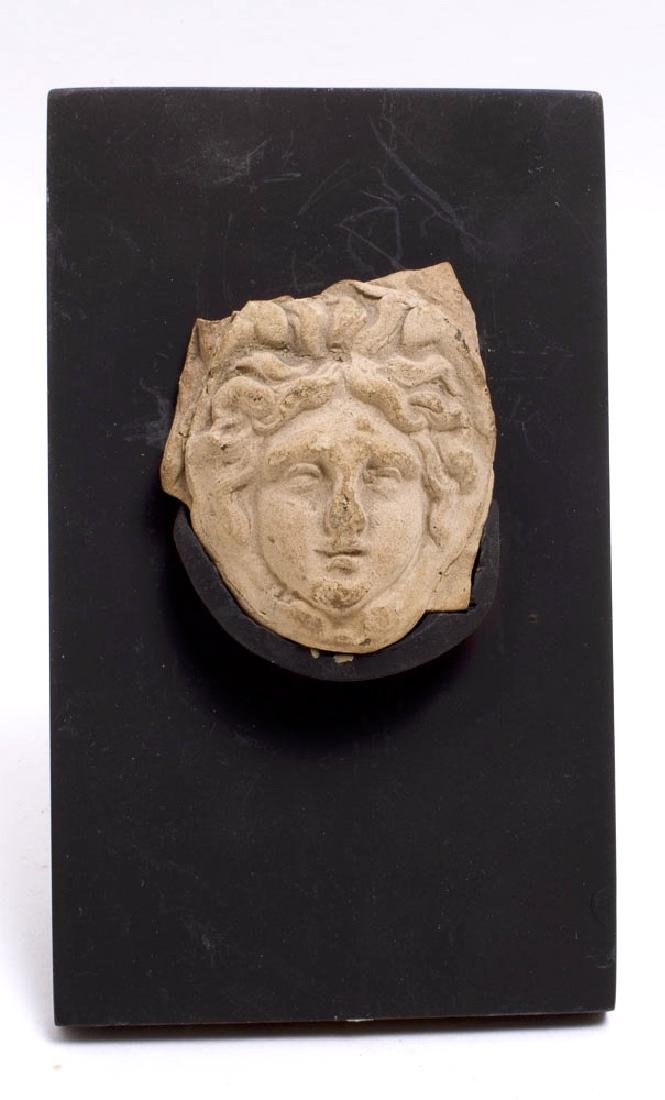Ancient Greek Terracotta Relief of Medusa c.4th cent BC