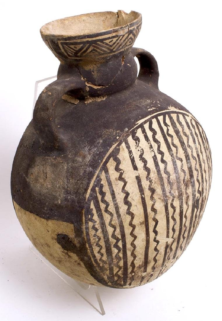 Ancient Pre-Columbian Terracotta Flask c.500-800 AD. - 2