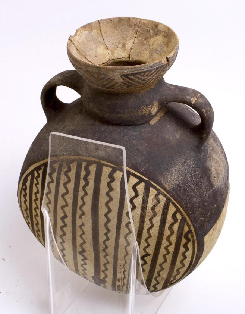 Ancient Pre-Columbian Terracotta Flask c.500-800 AD. - 3