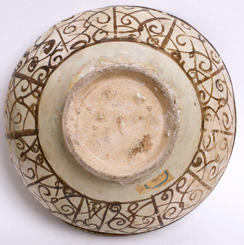 Ancient Persian Luster ware Ceramic Bowl c.13th century - 2