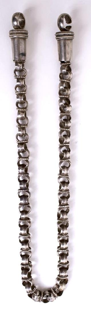 Antique Indian Silver Chain Necklace