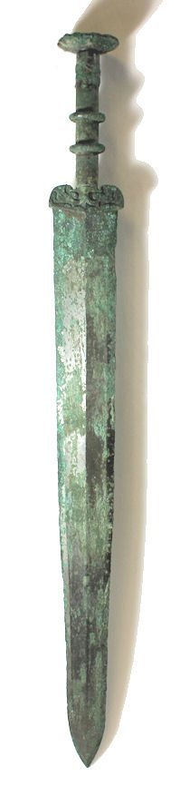 Ancient Archaic Chinese Bronze Sword c.7th century AD - 6