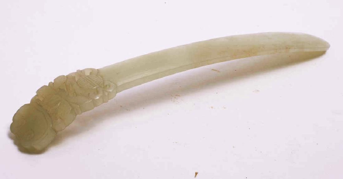 A Chinese Jade Hair Ornament