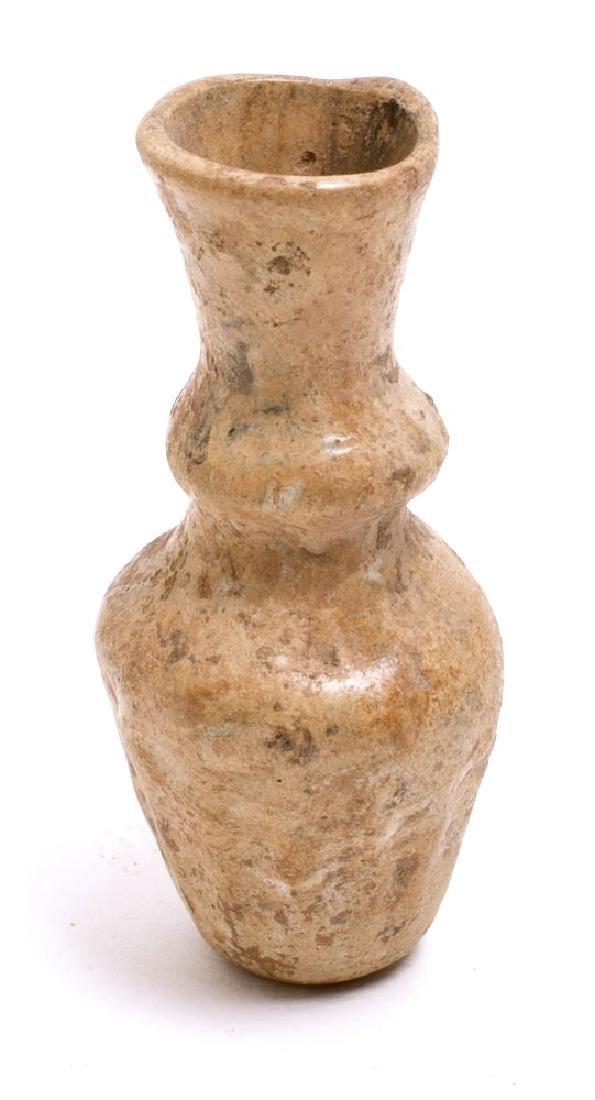Ancient Roman Glass Bottle c.2nd-3rd century AD