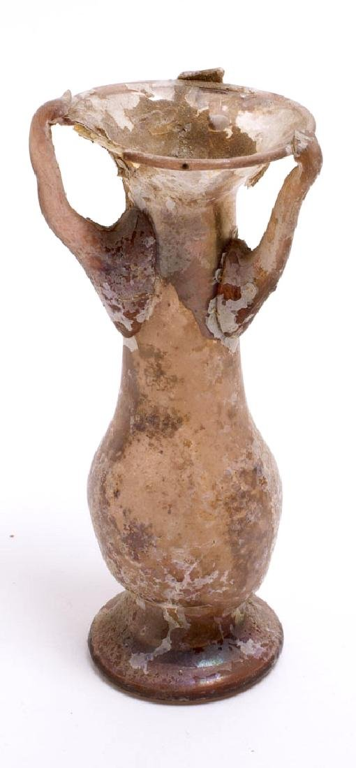 Ancient Roman Glass Bottle c.1st-2nd century AD