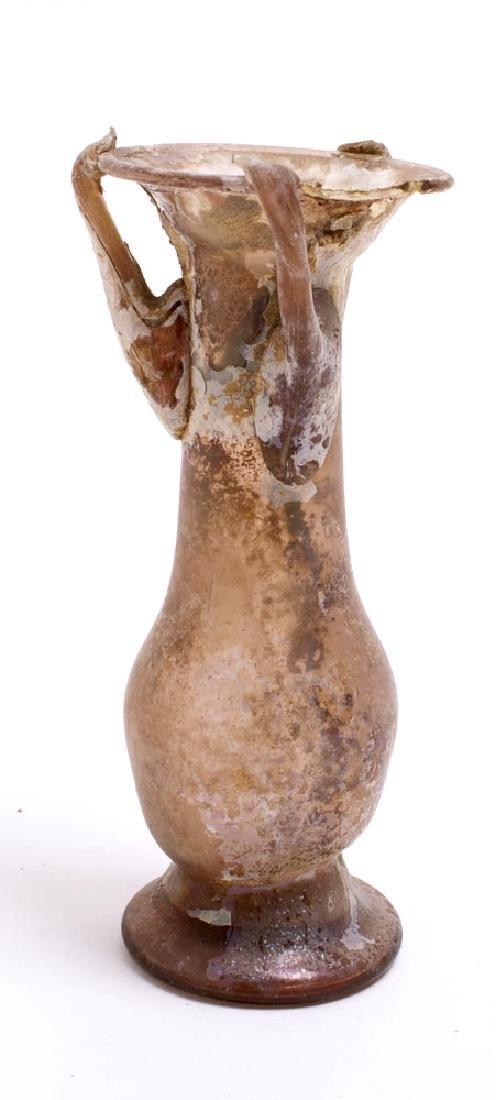 Ancient Roman Glass Bottle c.1st-2nd century AD - 2