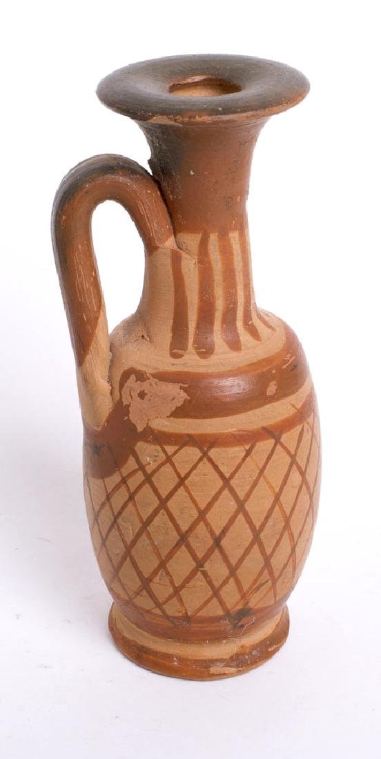 Ancient South Italian Greek Pottery Jug c.4th cent BC