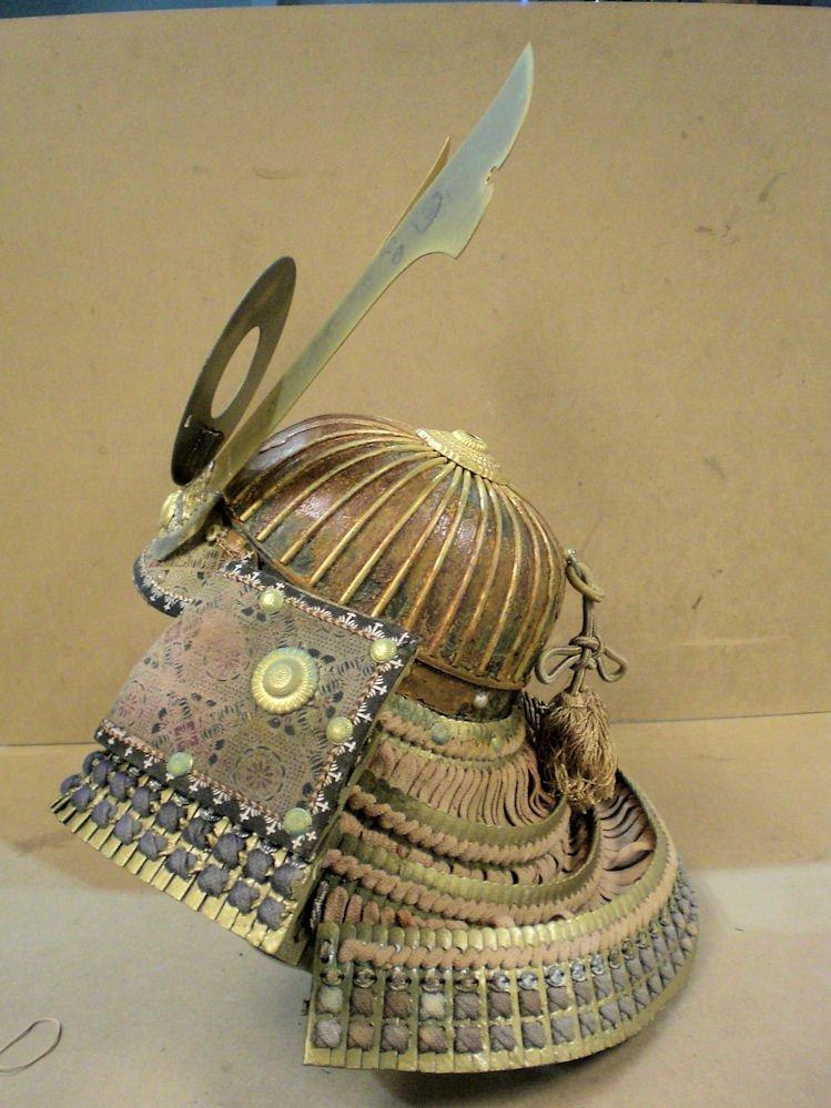 Japanese samurai helmet (made in Japan)  20th century - 6