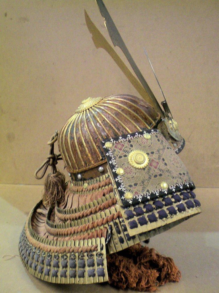 Japanese samurai helmet (made in Japan)  20th century - 7