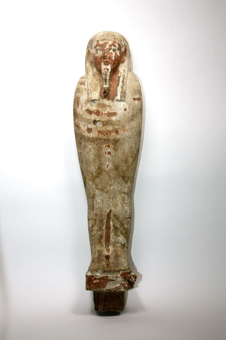 Ancient Egyptian Wood PTAH SOKER OSIRIS Figure c.635 BC