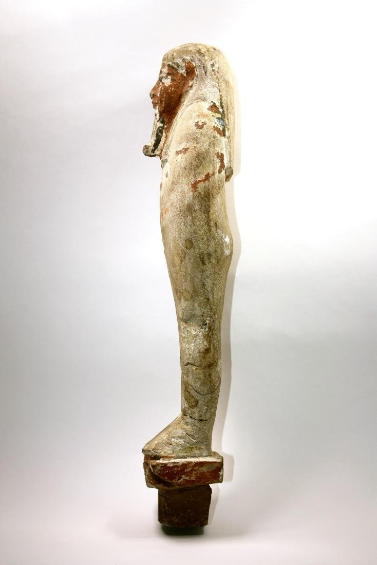 Ancient Egyptian Wood PTAH SOKER OSIRIS Figure c.635 BC - 2