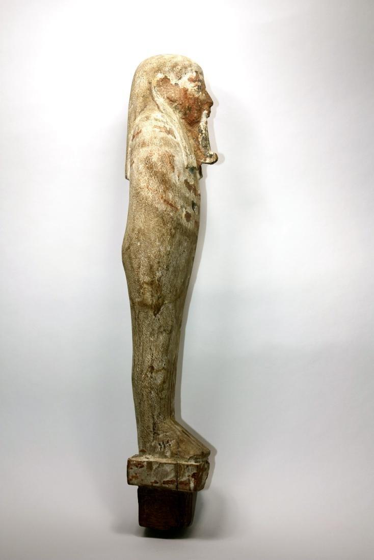 Ancient Egyptian Wood PTAH SOKER OSIRIS Figure c.635 BC - 3