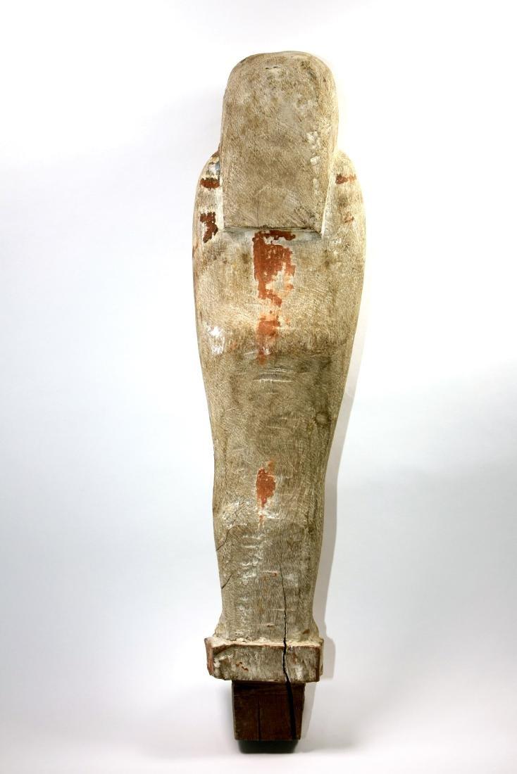 Ancient Egyptian Wood PTAH SOKER OSIRIS Figure c.635 BC - 4