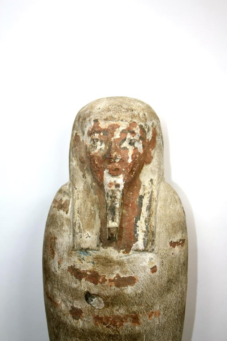 Ancient Egyptian Wood PTAH SOKER OSIRIS Figure c.635 BC - 5